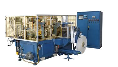 Chine Machine de la tasse 150pcs/min de papier de SCM-H/machines automatiques à grande vitesse horizontales de fabrication avec le cachetage d'air chaud distributeur