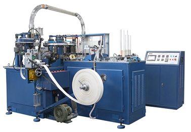 Chine Machine de tasse de papier de SCM-600 90pcs/min/machines automatiques de fabrication avec le cachetage d'appareil de chauffage/unité ultrasonique distributeur